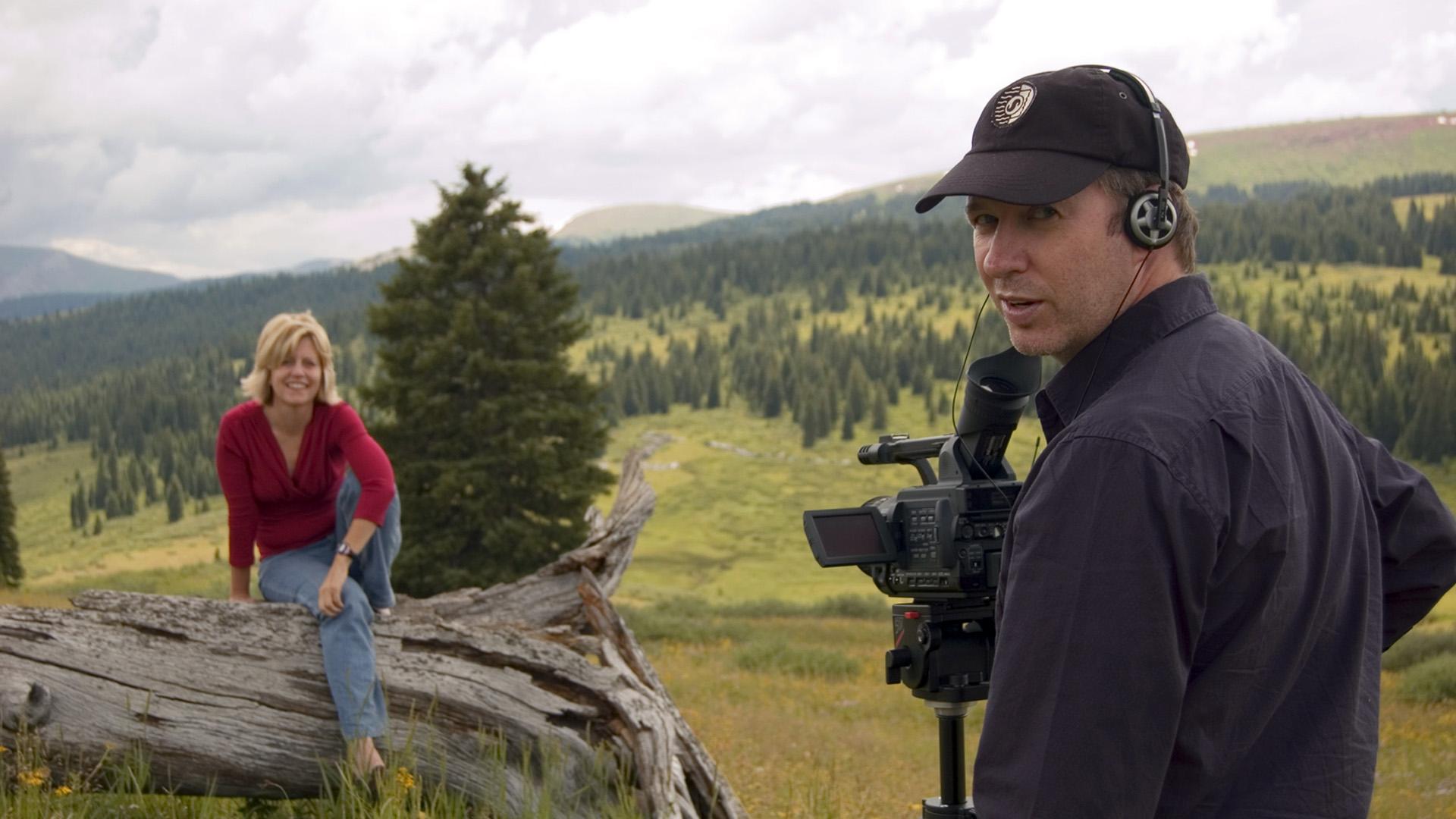 PJ Letofsky and Polly Letofsky on Vail Mountain, Colorado