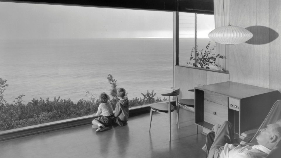 Wise House by Richard Neutra photo by Julius Shulman
