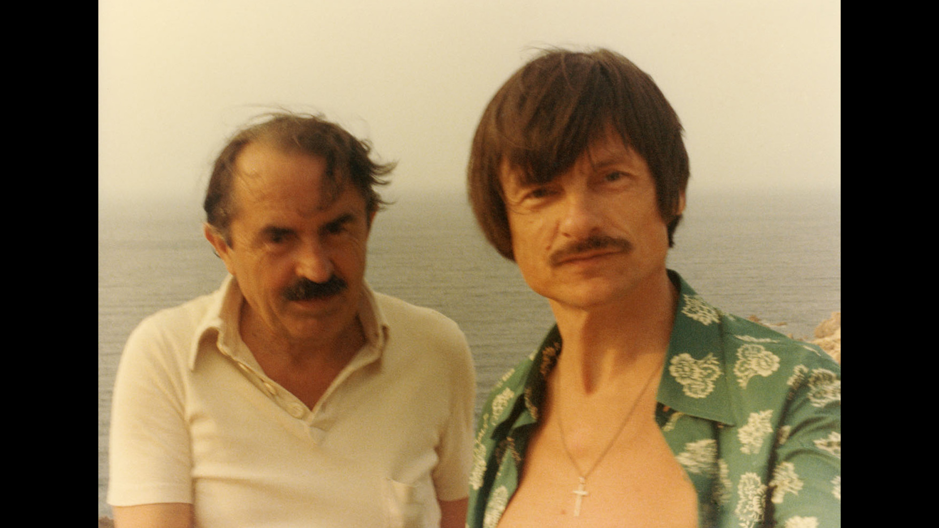Tonino Guerra and Andrei Tarkovsky by Michaelangelo courtesy of Enrica Antonioni